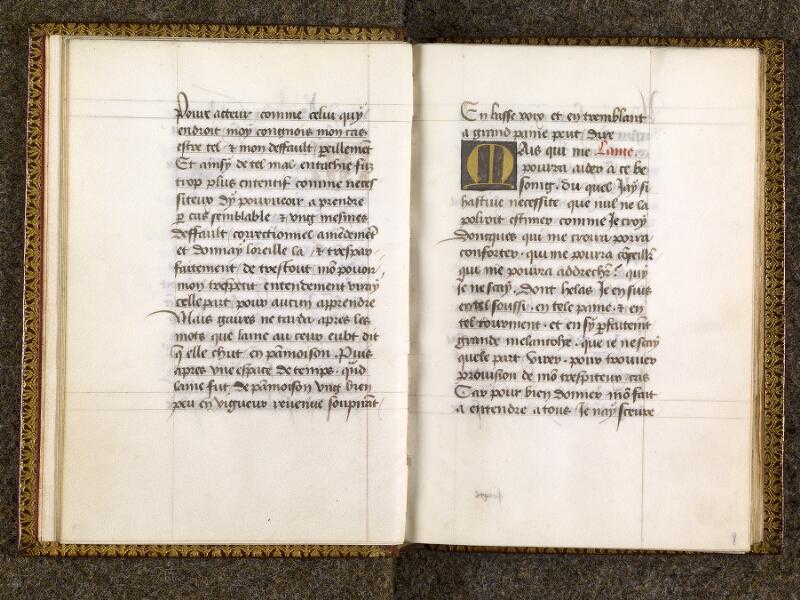 CHANTILLY, Bibliothèque du château, 0151 (1477), f. 007v - 008