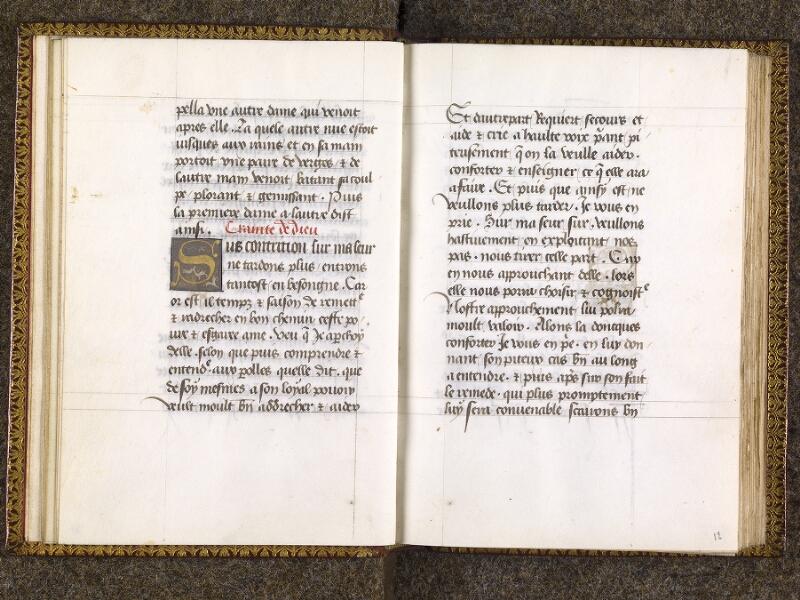 CHANTILLY, Bibliothèque du château, 0151 (1477), f. 011v - 012
