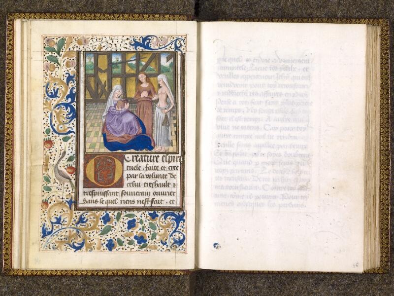 CHANTILLY, Bibliothèque du château, 0151 (1477), f. 014v - 015