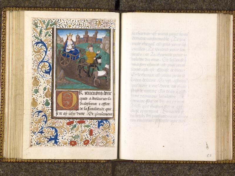 CHANTILLY, Bibliothèque du château, 0151 (1477), f. 052v - 053