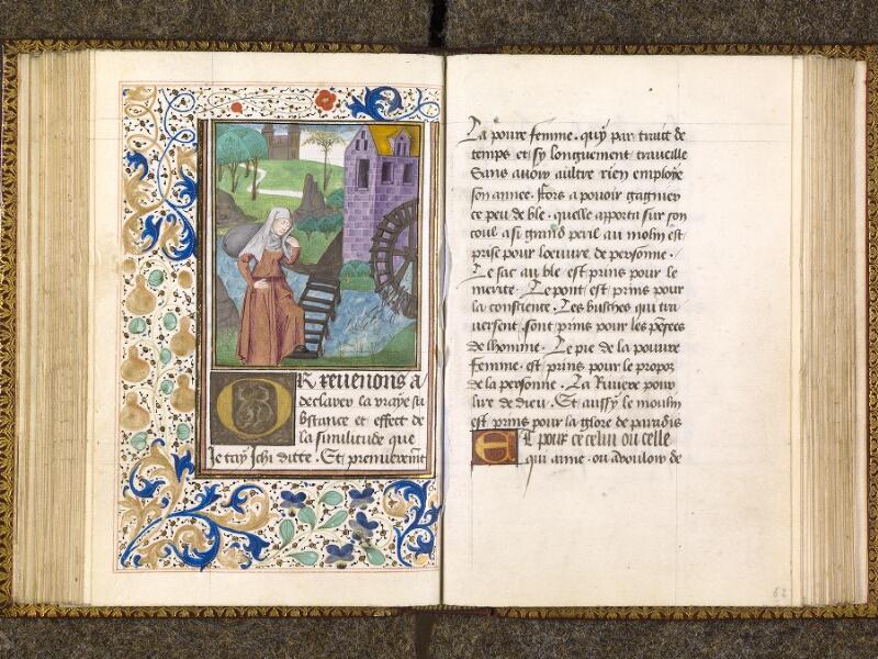 CHANTILLY, Bibliothèque du château, 0151 (1477), f. 061v - 062