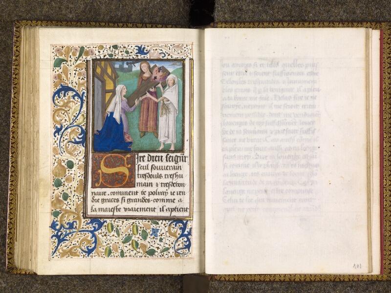 CHANTILLY, Bibliothèque du château, 0151 (1477), f. 100v - 101