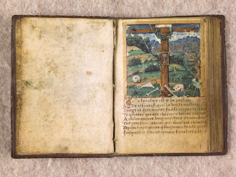 CHANTILLY, Bibliothèque du château, 0155 (1606), contregarde - f. 001