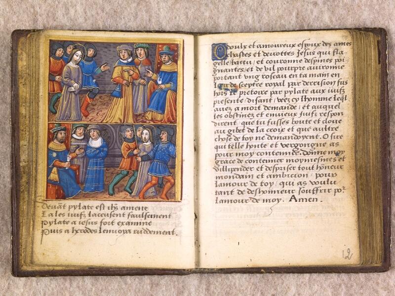 CHANTILLY, Bibliothèque du château, 0155 (1606), f. 011v - 012