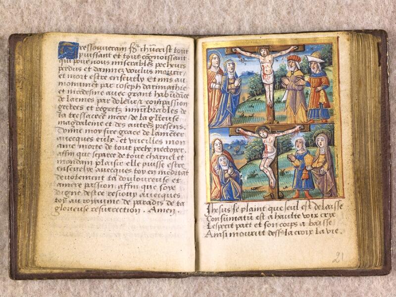 CHANTILLY, Bibliothèque du château, 0155 (1606), f. 020v - 021
