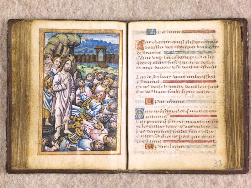 CHANTILLY, Bibliothèque du château, 0155 (1606), f. 032v - 033
