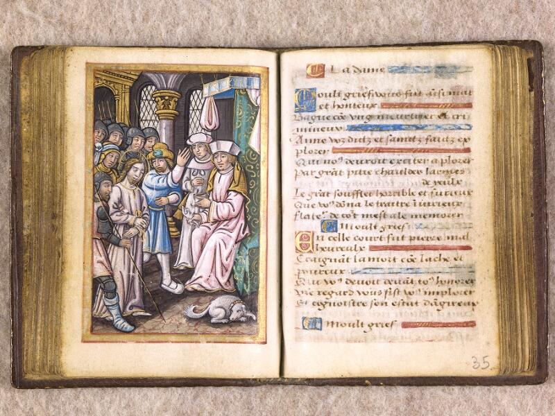 CHANTILLY, Bibliothèque du château, 0155 (1606), f. 034v - 035