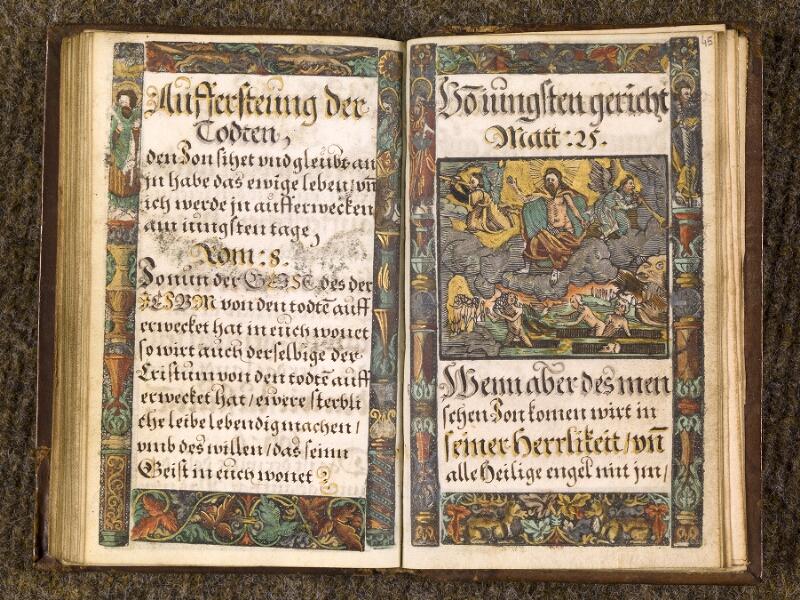 CHANTILLY, Bibliothèque du château, 0163 (1433), f. 044v - 045
