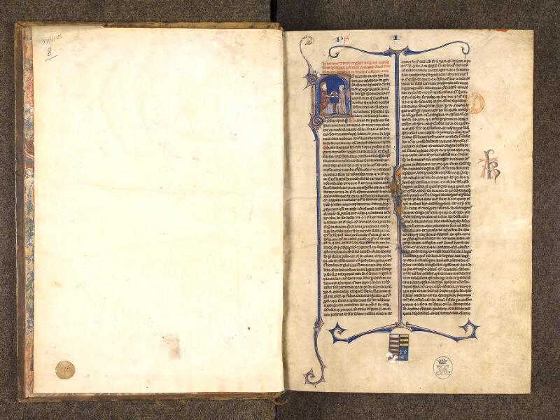 CHANTILLY, Bibliothèque du château, 0244 (0405), contregarde - f. 001