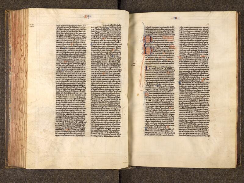 CHANTILLY, Bibliothèque du château, 0244 (0405), f. 153v - 154