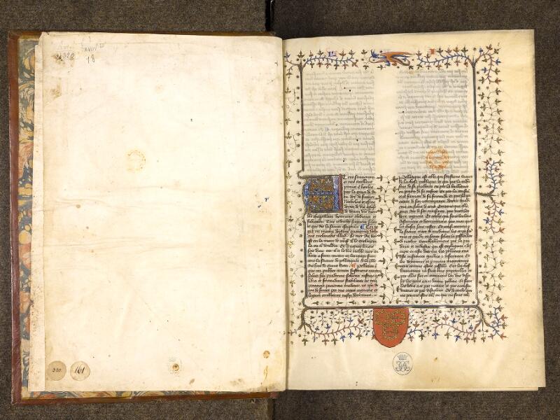 CHANTILLY, Bibliothèque du château, 0279 (0320), contregarde - f. 001