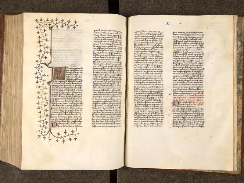 CHANTILLY, Bibliothèque du château, 0279 (0320), f. 304v - 305