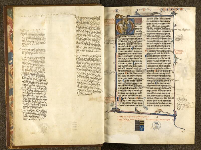 CHANTILLY, Bibliothèque du château, 0280 (1051), f. 000Bv - 001