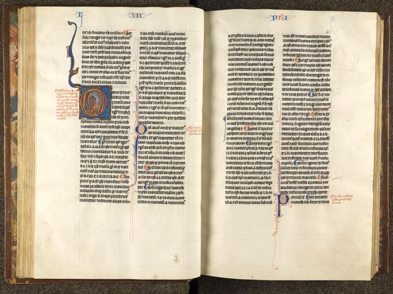 CHANTILLY, Bibliothèque du château, 0280 (1051), f. 042v - 043