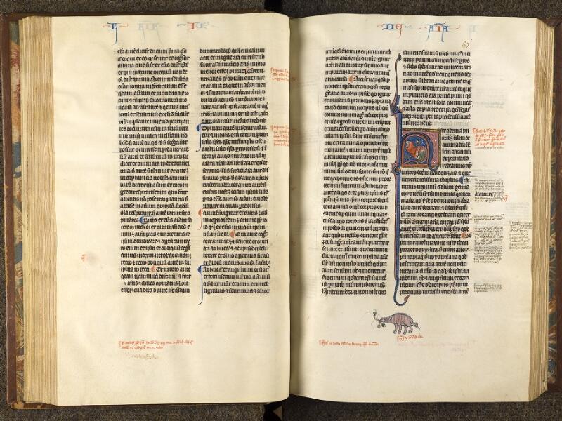 CHANTILLY, Bibliothèque du château, 0280 (1051), f. 066v - 067