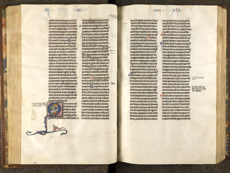 CHANTILLY, Bibliothèque du château, 0280 (1051), f. 076v - 077