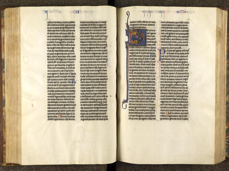 CHANTILLY, Bibliothèque du château, 0280 (1051), f. 107v - 108
