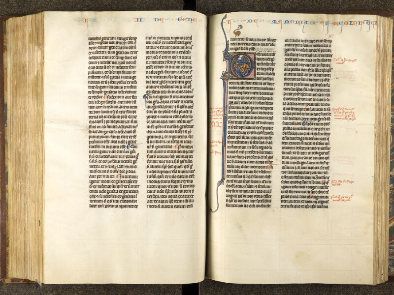 CHANTILLY, Bibliothèque du château, 0280 (1051), f. 180v - 181