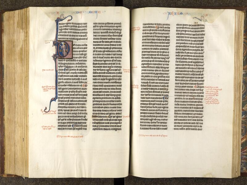 CHANTILLY, Bibliothèque du château, 0280 (1051), f. 198v - 199