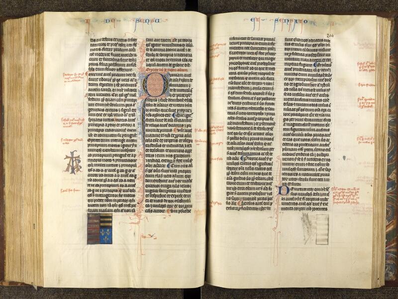 CHANTILLY, Bibliothèque du château, 0280 (1051), f. 203v - 204