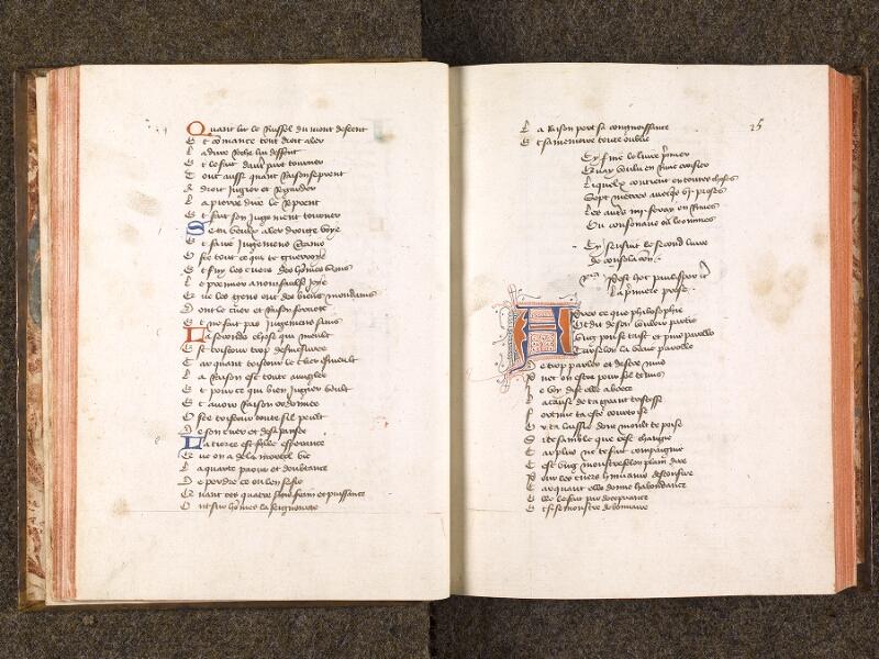 CHANTILLY, Bibliothèque du château, 0285 (0663), f. 024v - 025