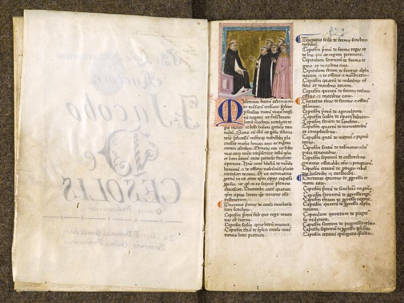 CHANTILLY, Bibliothèque du château, 0286 (1075), f. 001v - 002