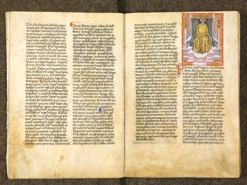 CHANTILLY, Bibliothèque du château, 0286 (1075), f. 004v - 005
