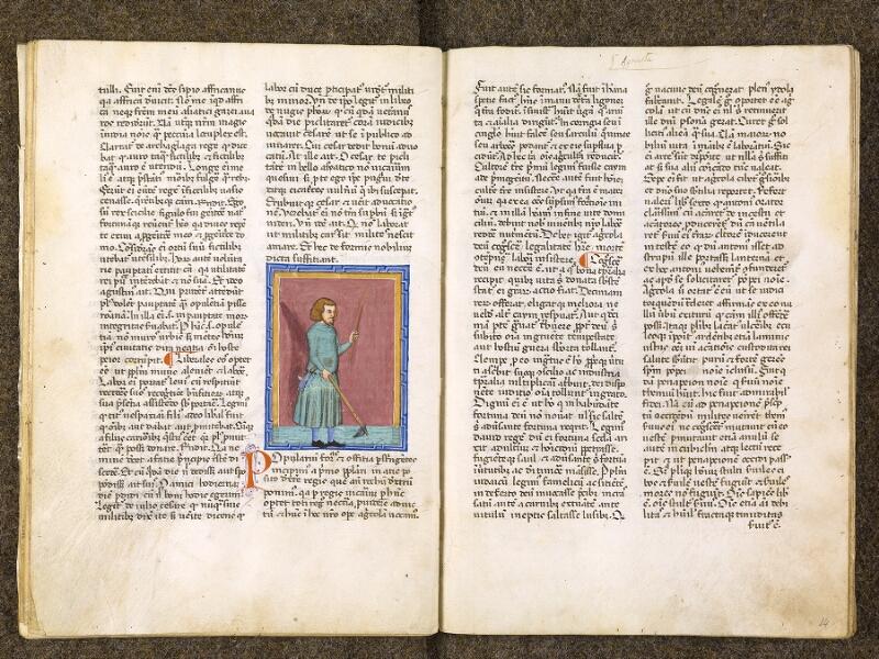CHANTILLY, Bibliothèque du château, 0286 (1075), f. 013v - 014