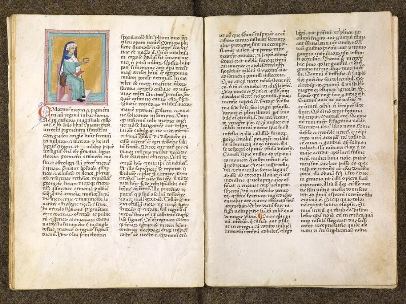 CHANTILLY, Bibliothèque du château, 0286 (1075), f. 019v - 020