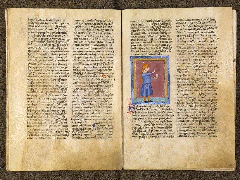 CHANTILLY, Bibliothèque du château, 0286 (1075), f. 020v - 021
