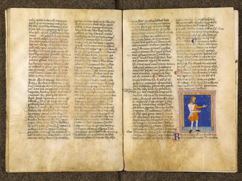CHANTILLY, Bibliothèque du château, 0286 (1075), f. 022v - 023