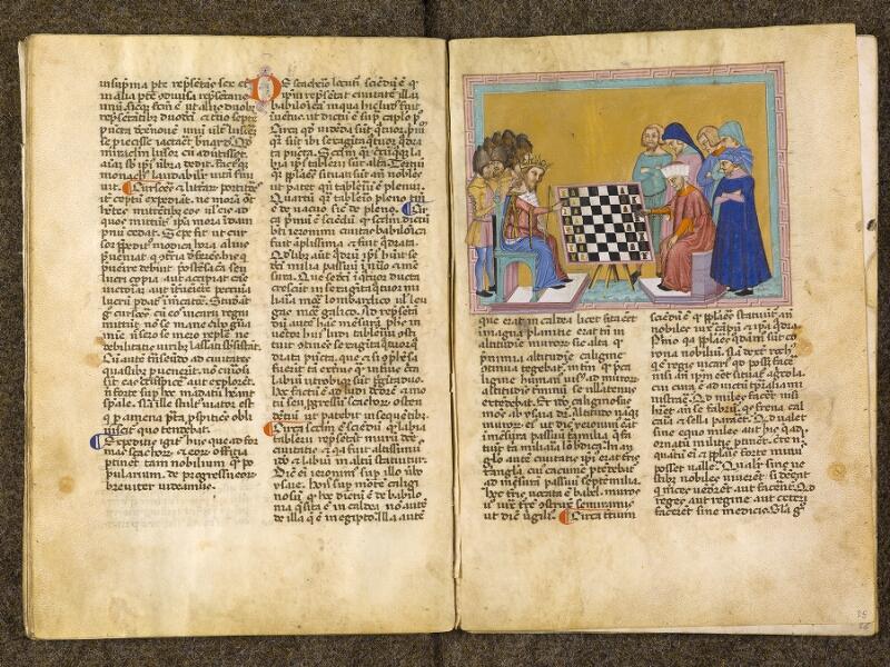 CHANTILLY, Bibliothèque du château, 0286 (1075), f. 024v - 025