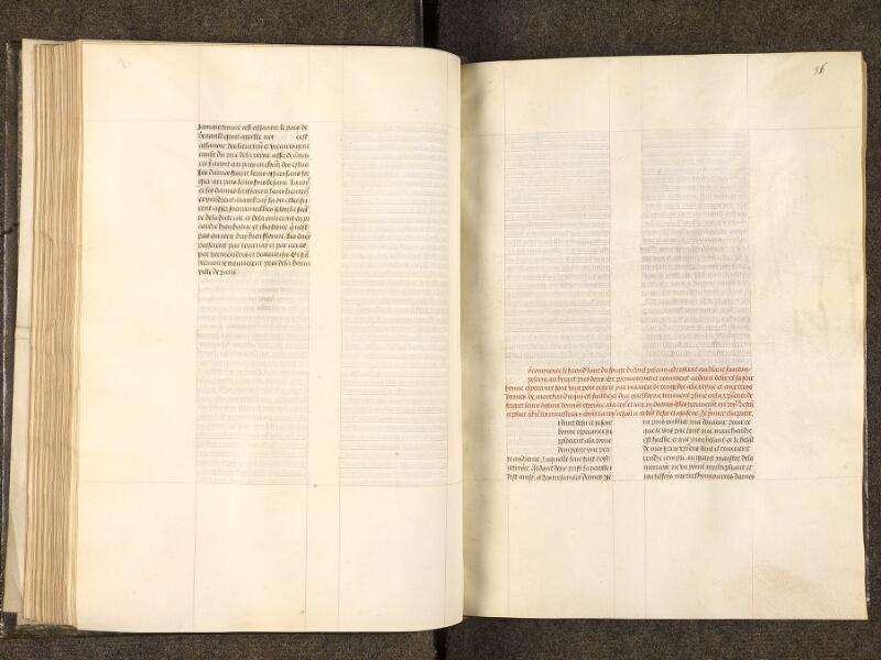 CHANTILLY, Bibliothèque du château, 0292 (0403), f. 085v - 086
