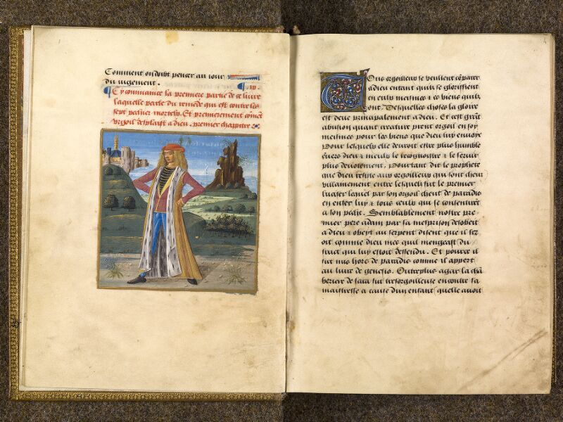 CHANTILLY, Bibliothèque du château, 0297 (1338), f. 003v - 004