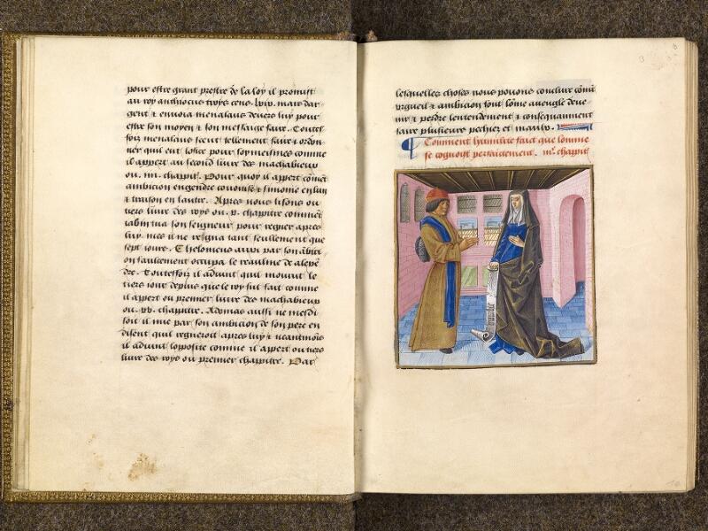 CHANTILLY, Bibliothèque du château, 0297 (1338), f. 009v - 010