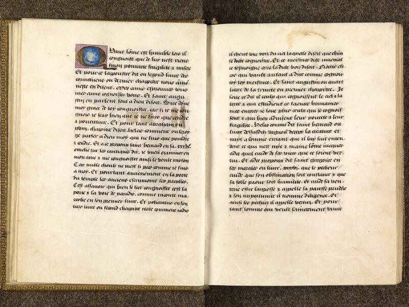 CHANTILLY, Bibliothèque du château, 0297 (1338), f. 010v - 011