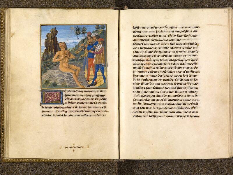 CHANTILLY, Bibliothèque du château, 0297 (1338), f. 024v - 025