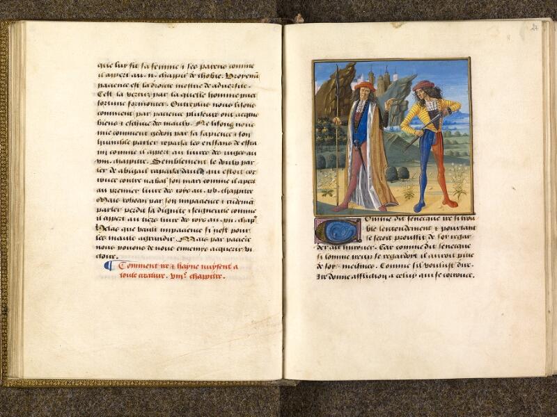 CHANTILLY, Bibliothèque du château, 0297 (1338), f. 026v - 027
