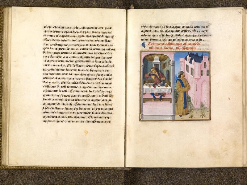 CHANTILLY, Bibliothèque du château, 0297 (1338), f. 034v - 035