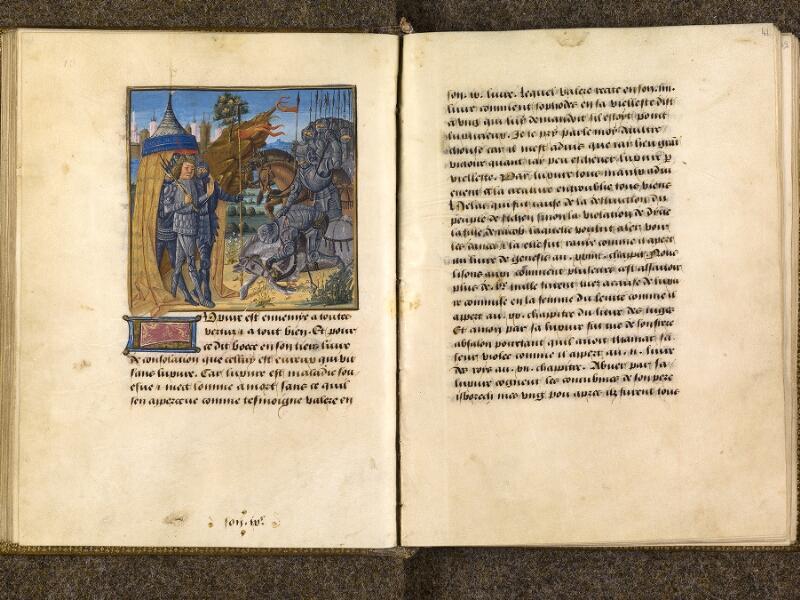 CHANTILLY, Bibliothèque du château, 0297 (1338), f. 040v - 041