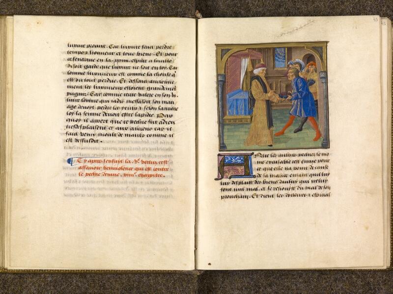 CHANTILLY, Bibliothèque du château, 0297 (1338), f. 042v - 043