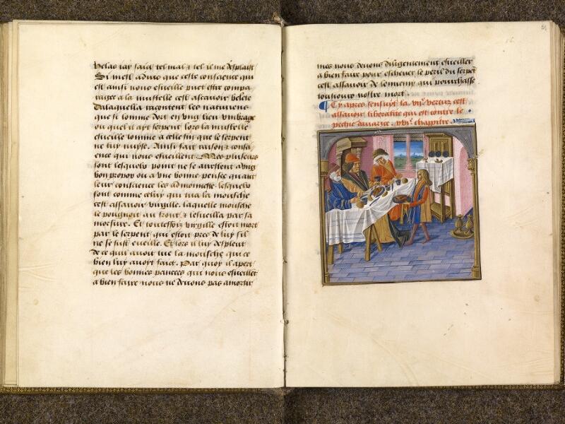 CHANTILLY, Bibliothèque du château, 0297 (1338), f. 050v - 051