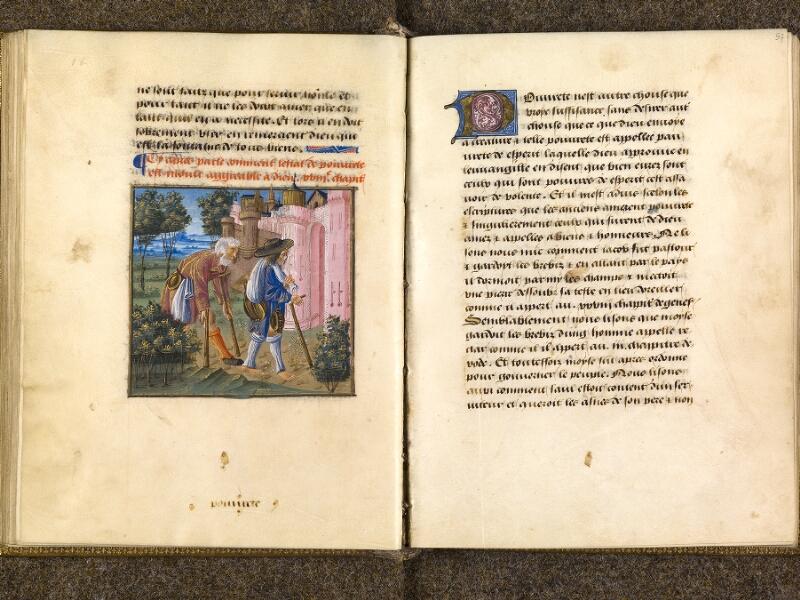 CHANTILLY, Bibliothèque du château, 0297 (1338), f. 056v - 057