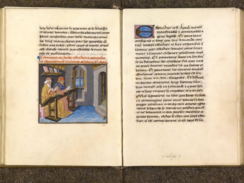 CHANTILLY, Bibliothèque du château, 0297 (1338), f. 071v - 072