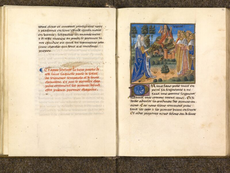CHANTILLY, Bibliothèque du château, 0297 (1338), f. 073v - 074