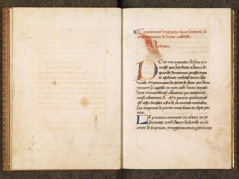 CHANTILLY, Bibliothèque du château, 0298 (1445), f. 000Cv - 001