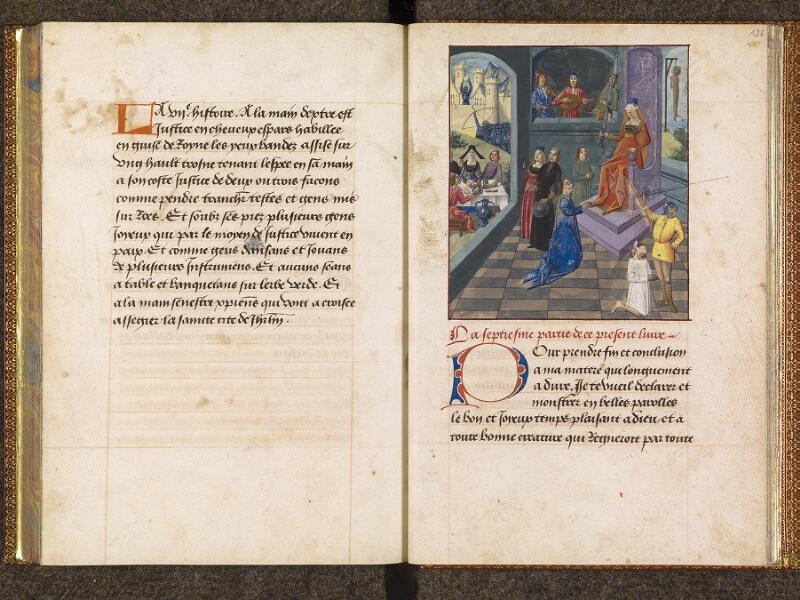 CHANTILLY, Bibliothèque du château, 0298 (1445), f. 125v - 126