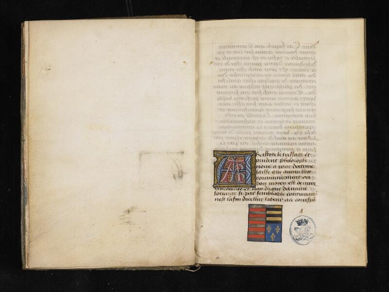 CHANTILLY, Bibliothèque du château, 0299 (0918), f. 000Bv - 001