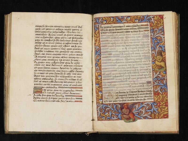 CHANTILLY, Bibliothèque du château, 0299 (0918), f. 042v - 043