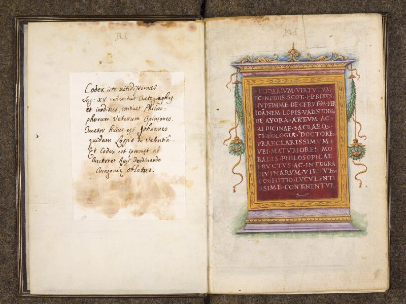 CHANTILLY, Bibliothèque du château, 0300 (1341), contregarde - f. 000A